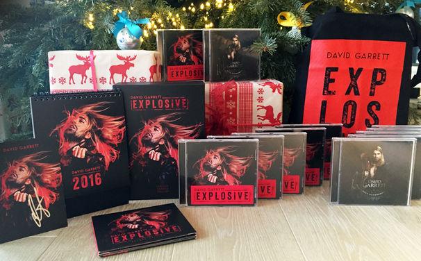 David Garrett, Weihnachtsgeschenke von David Garrett: Gewinnt signierte CD-Pakete