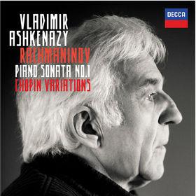 Vladimir Ashkenazy, Rachmaninov: Piano Sonata No.1 / Chopin Variations, 00028947835011