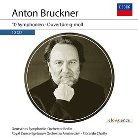 Riccardo Chailly, Anton Bruckner: 10 Symphonien, 00028948244546