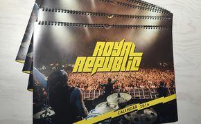 Royal Republic, Mit Royal Republic durch 2016: Gewinnt schicke Kalender der Band