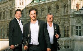 The Clarinotts, Die drei Klarinettisten - das Debütalbum der Clarinotts