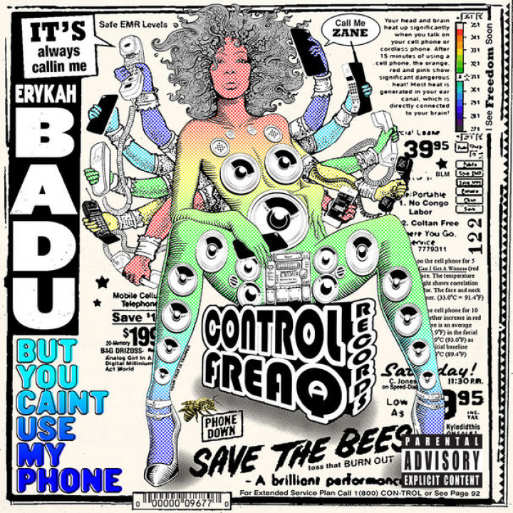 Erykah Badu But you caint use my phone cover