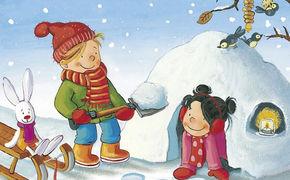 Various Artists, Der Winter ist da - Spaß im Schneegestöber mit Reinhard Horn, Conni und Max