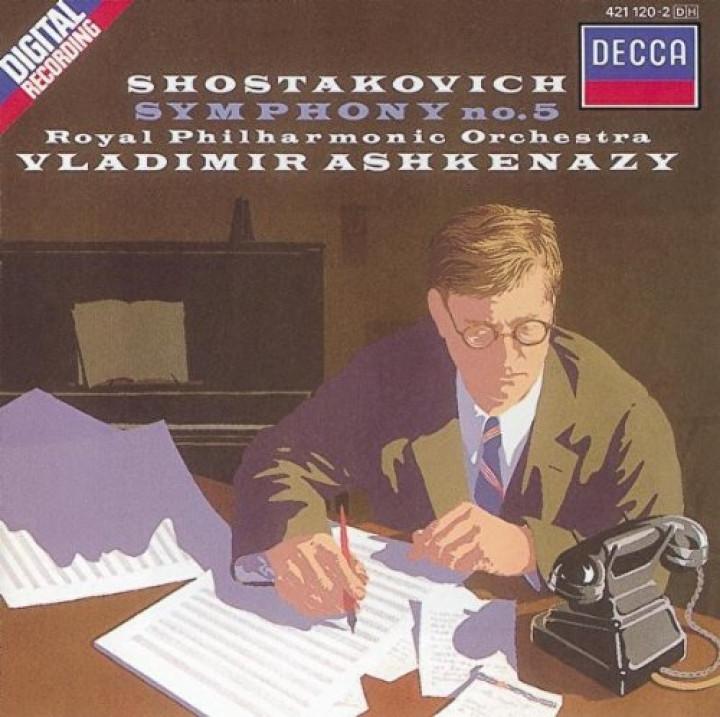 Shostakovich: Symphony No.5/5 Fragments, Op.42 - VLADIMIR ASHKENAZY