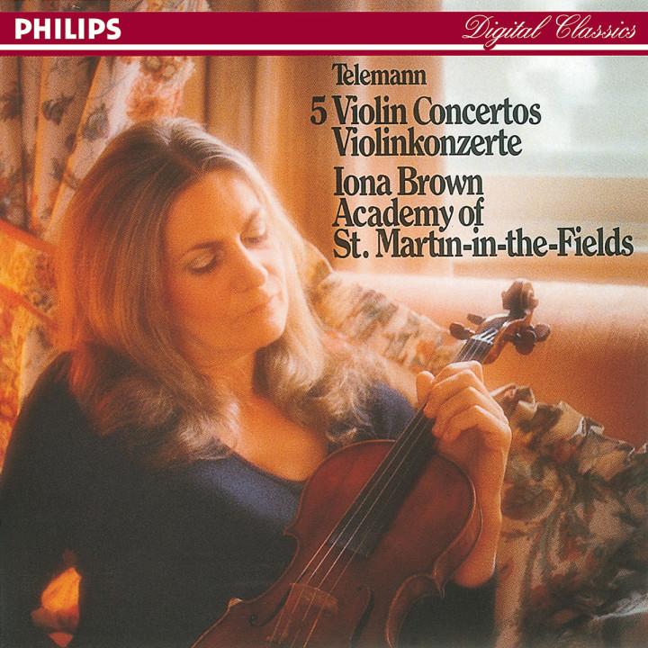 Telemann: Five Violin Concertos