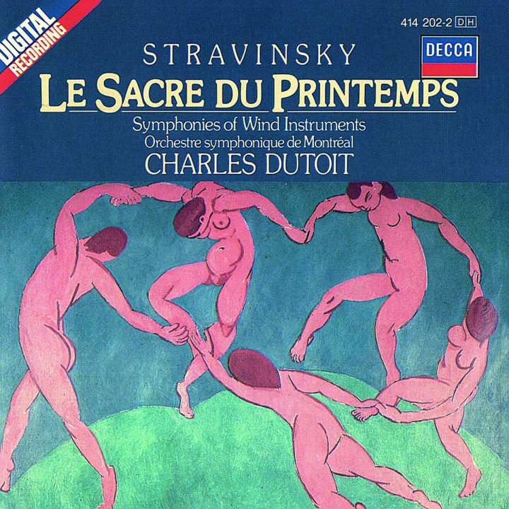 Stravinsky: The Rite of Spring/Symphonies of Wind Instruments