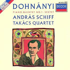 András Schiff, Dohnányi: Piano Quintet/Piano Sextet, 00028942142329
