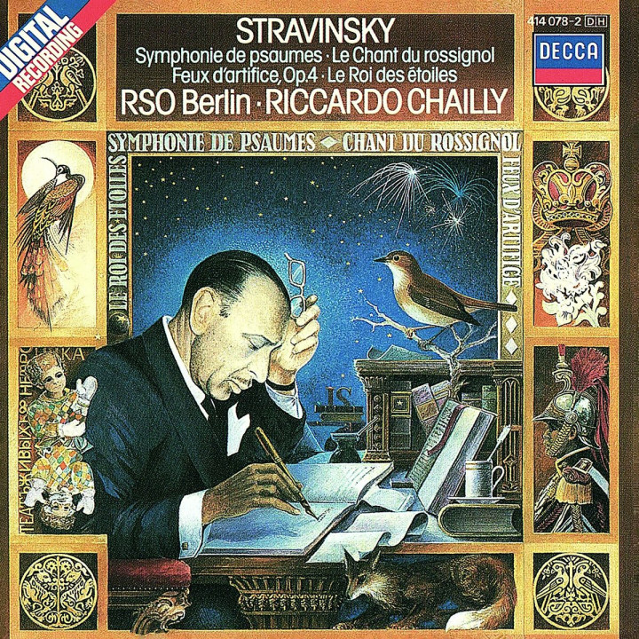 Stravinsky: Symphony of Psalms etc.