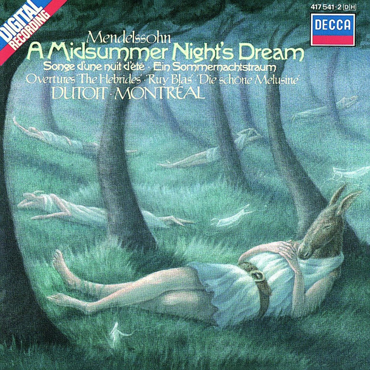 Mendelssohn: A Midsummer Night's Dream etc.