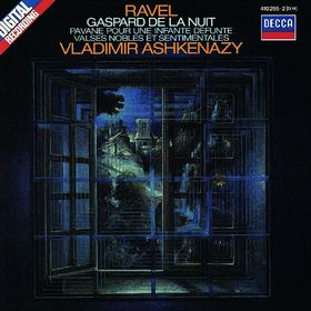 Vladimir Ashkenazy, Ravel: Gaspard de la nuit; Pavane; Valses nobles et sentimentales, 00028941025524