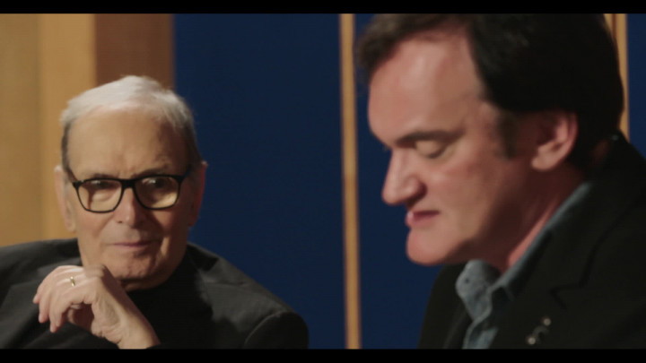 Quentin Tarantino über die Zusammenarbeit mit Ennio Morricone