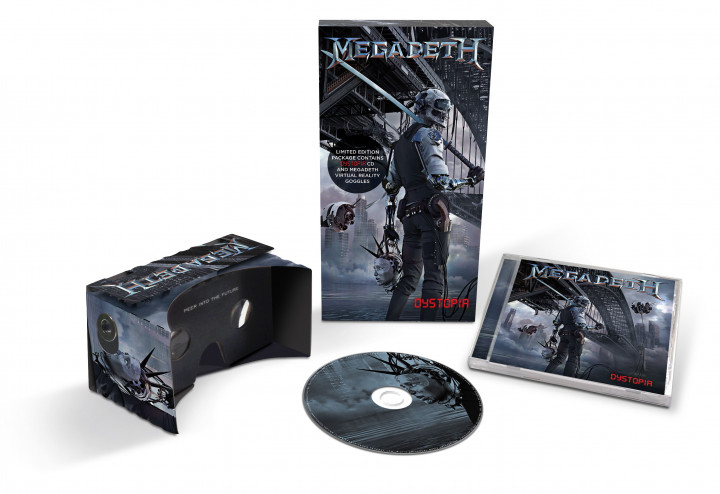 Megadeth - Dystopia Deluxe 0602547693822