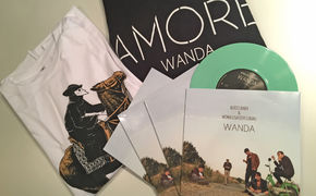 Wanda, Gewinnt farbige Bussi Baby Vinyls und schicke Wanda Shirts