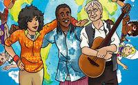"""Karibuni, Musikalisch um die ganze Welt – """"Waka Waka - Kinderlieder aus der großen weiten Welt"""", das Best of-Album von Karibuni"""