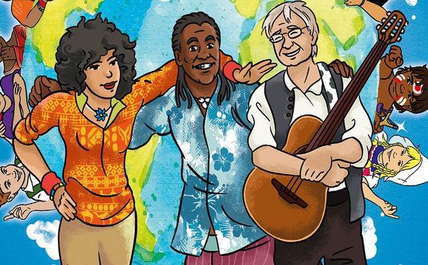 Karibuni, Musikalisch um die ganze Welt – Waka Waka - Kinderlieder aus der großen weiten Welt, das Best of-Album von Karibuni