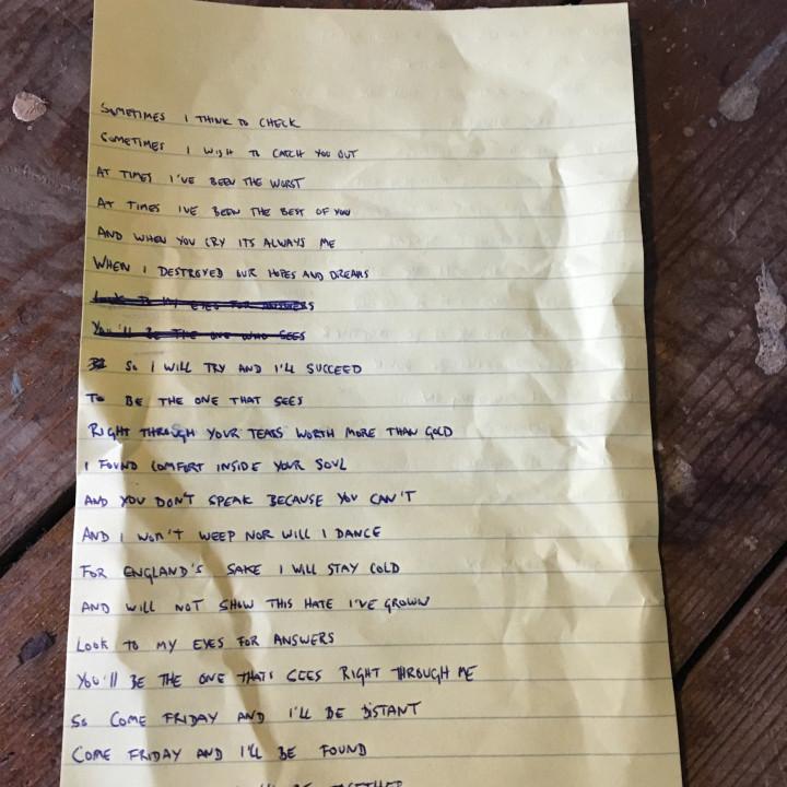 Lyrics Information