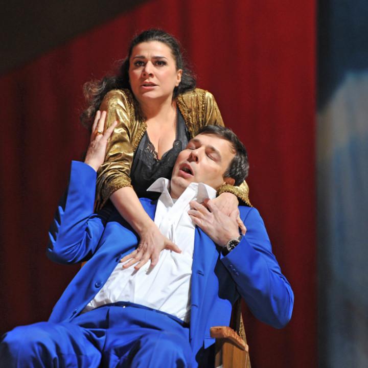 Cecilia Bartoli (Kleopatra), Andreas Scholl (Giulio Cesare)