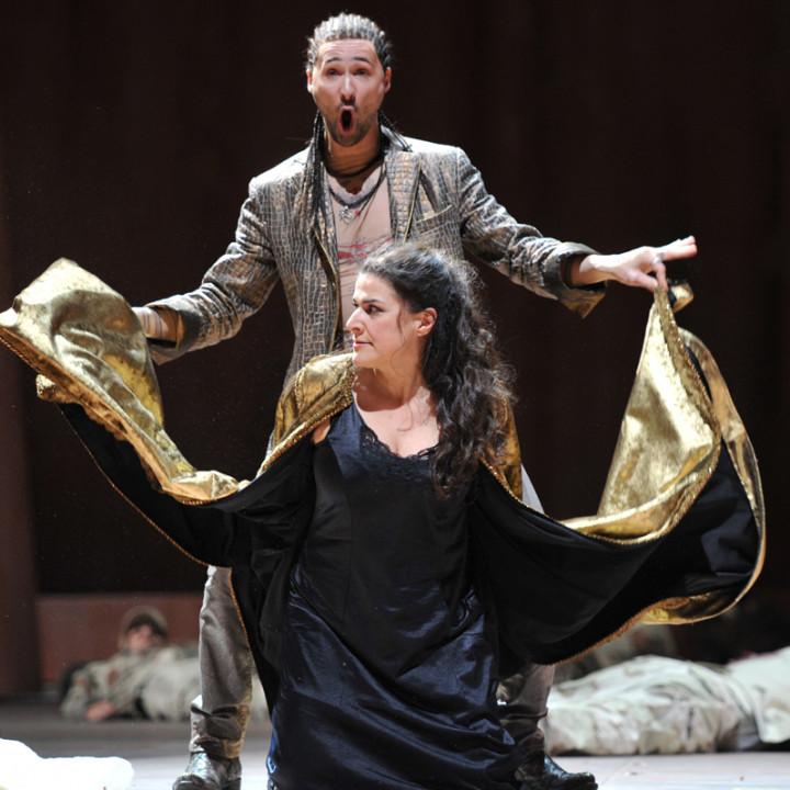 Cecilia Bartoli (Kleopatra), Christophe Dumaux (Tolomeo)