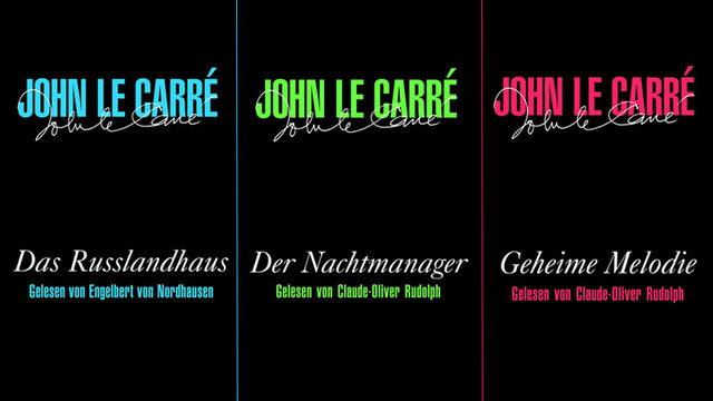 John le Carré, John Le Carré hoch drei - Gleich drei spannende Hörbücher von dem ehemaligen Agenten
