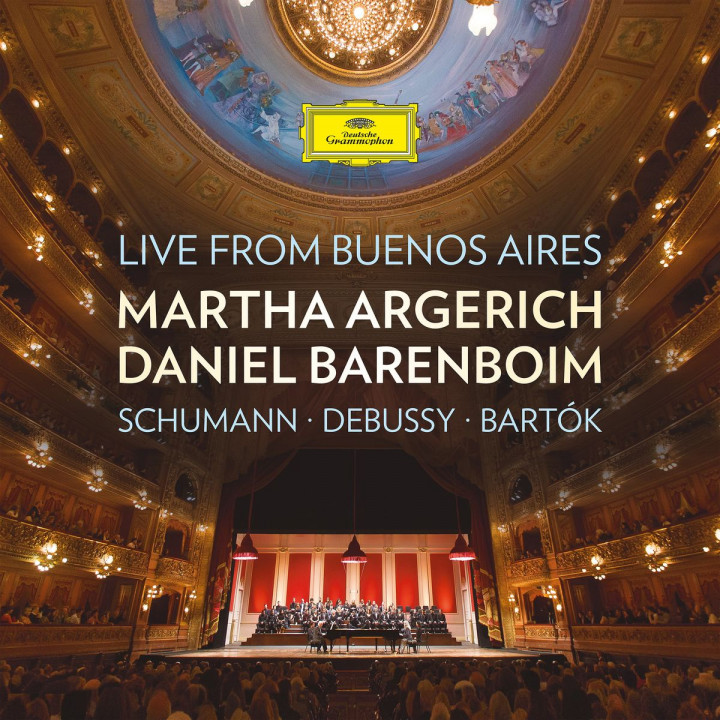 Live from Buenos Aires: Schumann, Debussy, Bartók