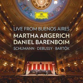 Daniel Barenboim, Live from Buenos Aires: Schumann, Debussy, Bartók, 00028947955634