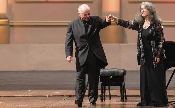 Daniel Barenboim, Grüße aus Buenos Aires: Martha Argerich und Daniel Barenboim spielen Schumann, Debussy und Bartók
