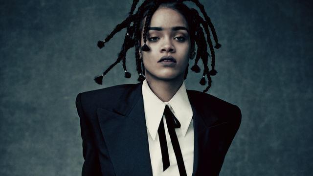 Rihanna, Hier in Slegdehammer reinschauen: Rihanna präsentiert den Titelsong des Sci-Fi-Movies Star Trek: Beyond