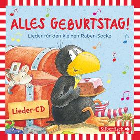 Various Artists, Alles Geburtstag! Lieder für den kleinen Raben Socke, 09783867427845