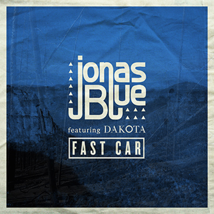 Jonas Blue Fast Car Singlecover