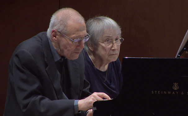 György Kurtág, Spieltrieb - Konzertauftritt von Márta und György Kurtág