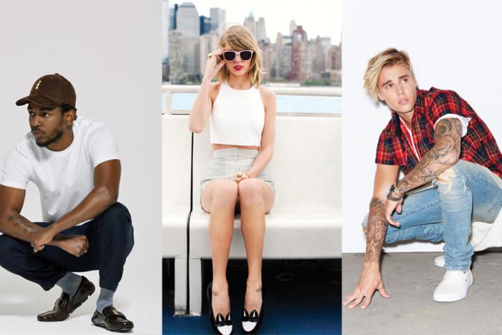 Collage Grammys 2016