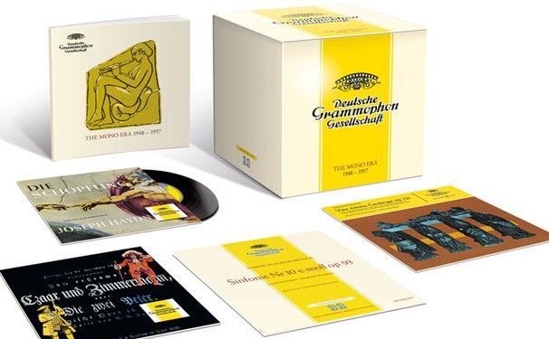Diverse Künstler, Limitierte Edition – Legendäre Anfangsjahre der Deutschen Grammophon