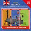 Michael Ende, Englisch lernen mit Jim Knopf - 3-CD Hörspielbox, 00602547796509