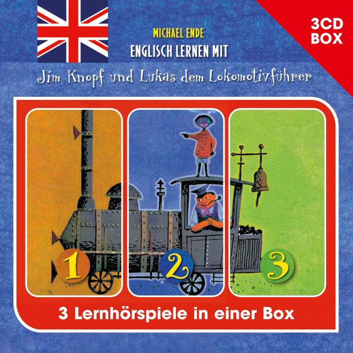 Michael Ende-Englisch lernen mit Jim Knopf (3-CD-Hörspielbox)