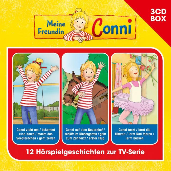 Meine Freundin Conni - 3-CD Hörspielbox, Vol. 1