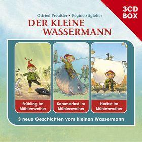Otfried Preußler, Der kleine Wassermann - 3-CD Hörspielbox, 00602547796585