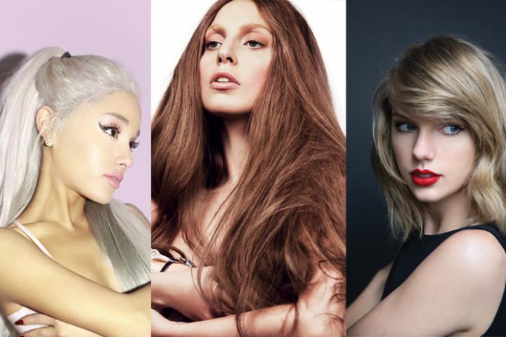 Ariana Lady Gaga Taylor