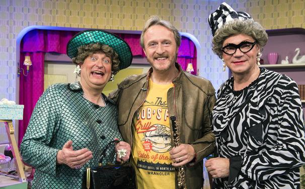 Albrecht Mayer, Musikalische Tortenschlacht - Albrecht Mayer ist zu Gast im Bayerischen Fernsehen