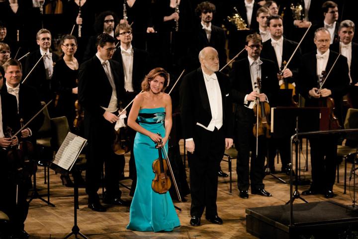 Anne-Sophie Mutter, Kurt Masur