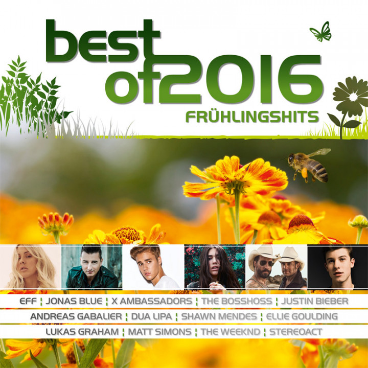 Best Of 2016 - Frühlingshits