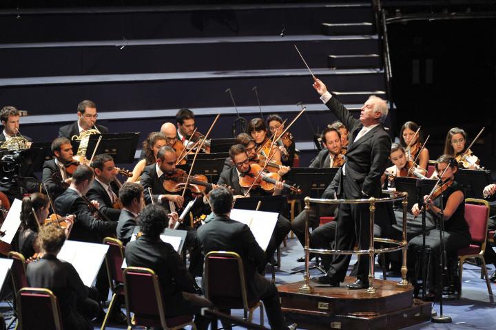 Daniel Barenboim, West-Eastern Divan Orchestra
