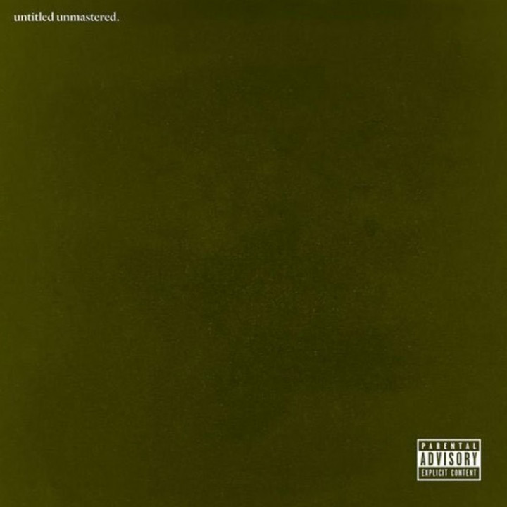 Kendrick Lamar untitled unmastered Albumcover