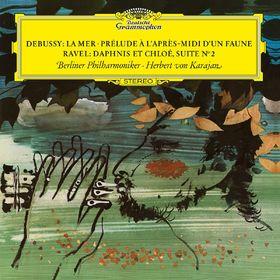 Die Berliner Philharmoniker, Debussy: La Mer, L.109; Prélude à l'après-midi d'un faune, L.86 / Ravel: Dapnis & Chloé, M.57b, 00028947958871