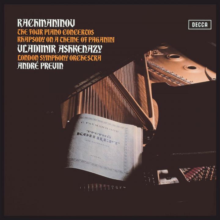 Klavierkonzerte1- 4 (Deluxe Vinyl Box)