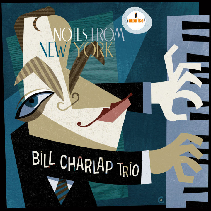 Bill Charlap Trio - Notess From New York - Cover