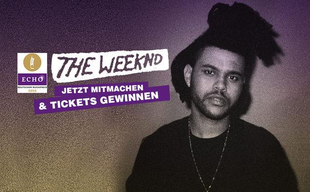 The Weeknd, The Weeknd live in Deutschland: Gewinnt Tickets für den ECHO 2016