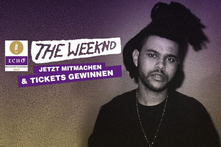 The Weeknd ECHO Gewinnspiel