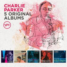 Charlie Parker, 5 Original Albums, 00600753596166