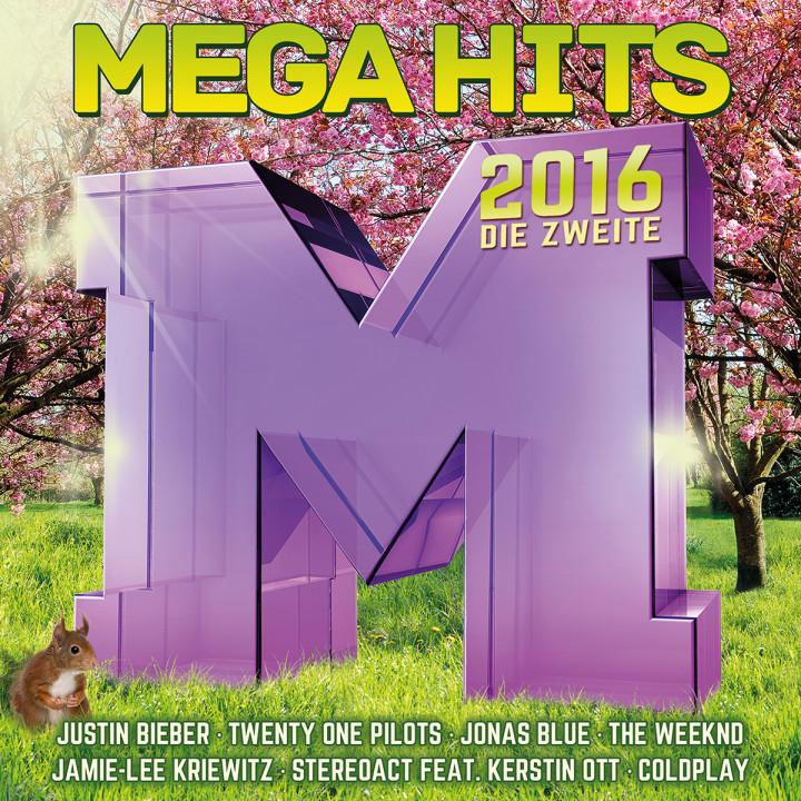 Megahits 2016 die Zweite