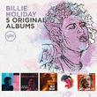 Billie Holiday, 5 Original Albums, 00600753590911